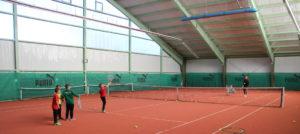 Unsere Tennishalle