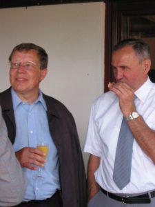 Bgm Klement Ichenhausen mit Vorstand Helmut Dippel