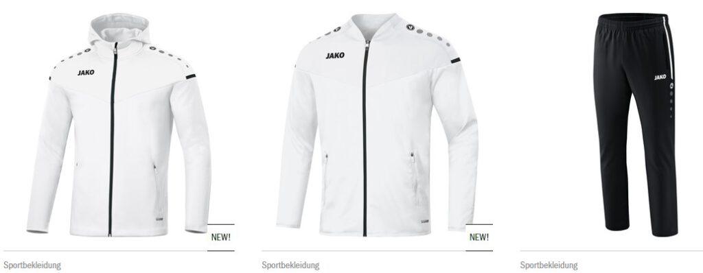 Teambekleidung