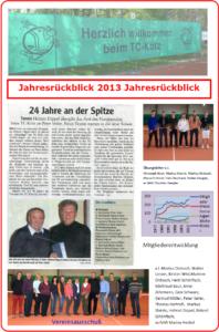 Rueckblick 2013
