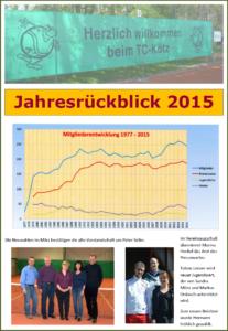Rueckblick 2015